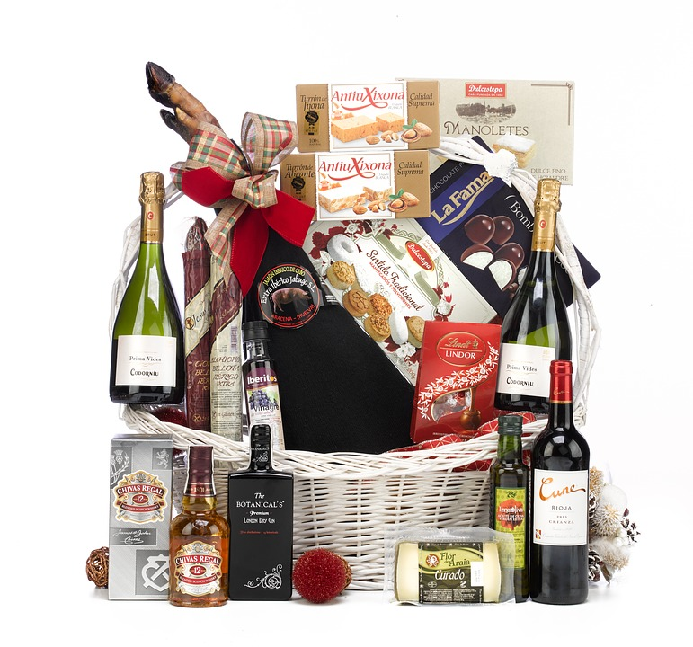 gourmet gift basket wedding registry gift