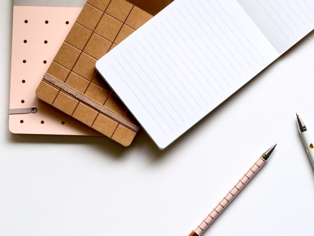 make a list of questions, pad of paper and pen