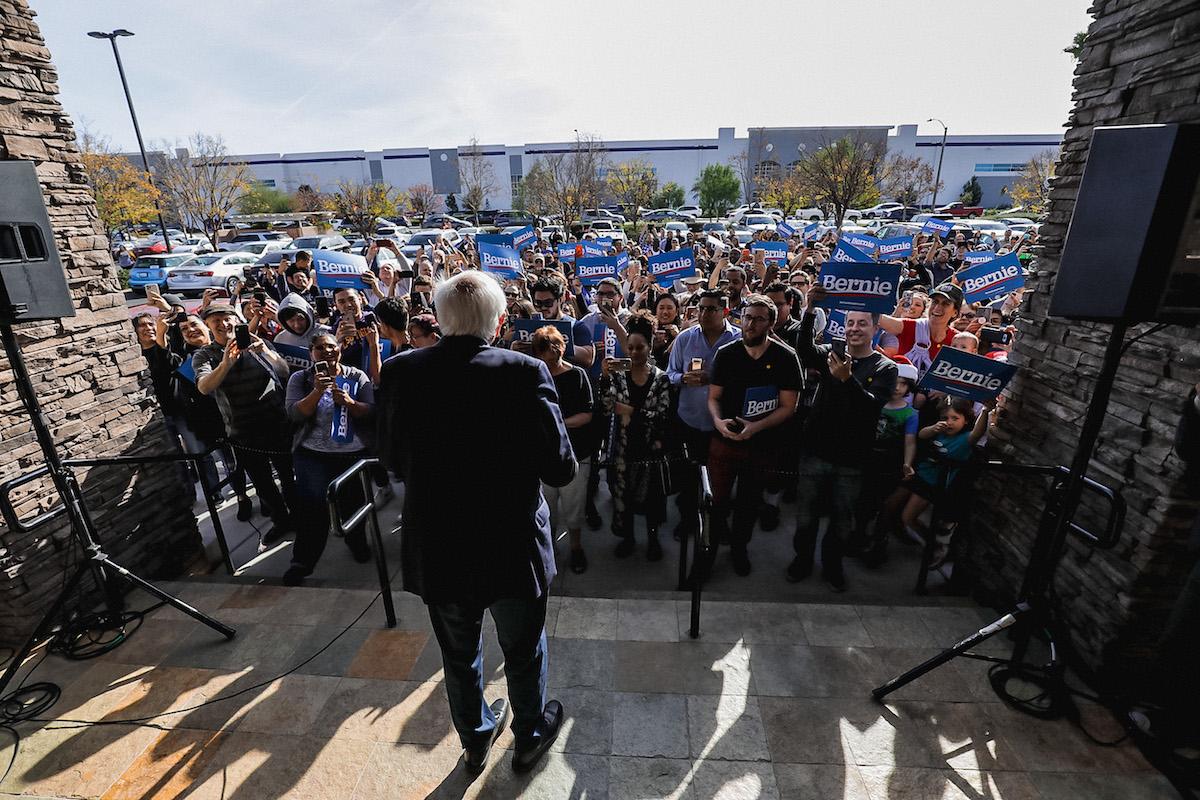 Bernie Sanders at Marinaj Banquets & Events