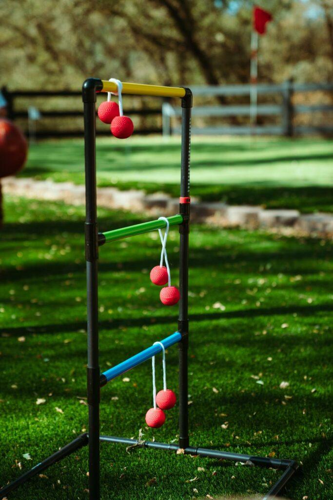 ladder golf backyard game