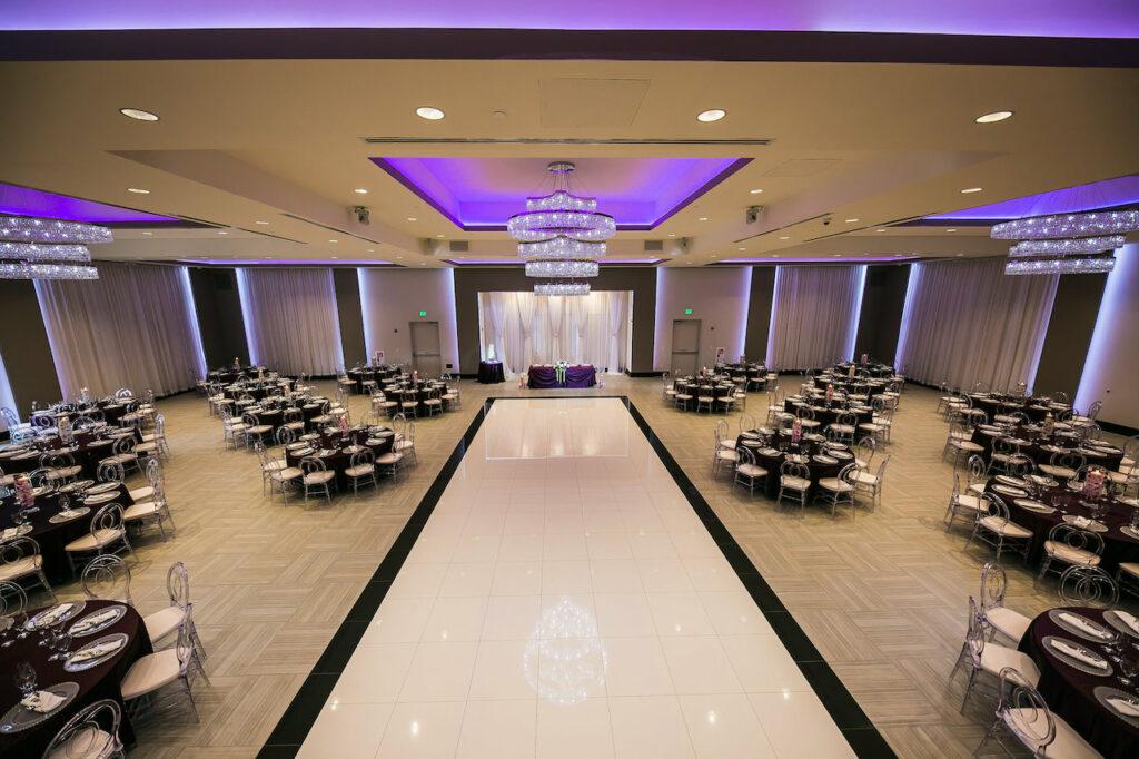 Wedding venue with castle look.