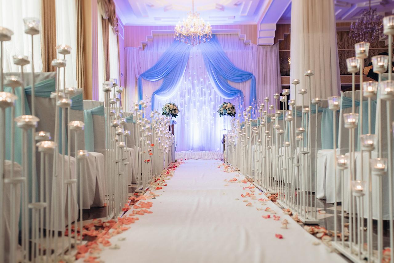 all-inclusive wedding venue decorated